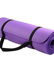 cheap -Yoga Mat 183*61*1 cm Odor Free Eco-friendly High Density Non Toxic Thick Anti Slip NBR Waterproof Physical Therapy Weight Loss Slimming Body Sculptor Calories Burned for Home Workout Yoga Pilates