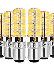 cheap -YWXLIGHT® 6pcs 7W 600-700lm E14 G9 G4 BA15D LED Bi-pin Lights T 80 LED Beads SMD 5730 Dimmable Decorative Warm White Cold White 110-130V