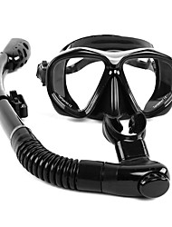 cheap -WHALE Snorkeling Set Diving Package - Diving Mask Snorkel - Anti Fog Dry Top Adjustable Strap Swimming Diving Silicone Glass Rubber  For  Adults