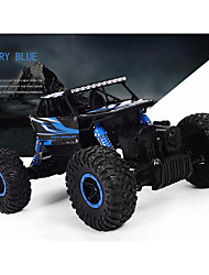 cheap -RC Car RC Car 4 Channel 2.4G Rock Climbing Car / Off Road Car / Racing Car 1:18