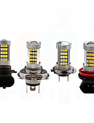 cheap -H8 / 9006 / 9005 Car Light Bulbs 35W SMD 3528 3200lm 66 LED Beads Fog Light For universal All Models All years white red yellow blue color selective