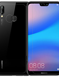 cheap -HuaweiScreen ProtectorHuawei P20 lite High Definition (HD) Front & Back & Camera Lens Protector 3 pcs Tempered Glass