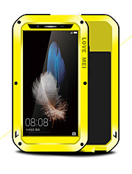 cheap -Case For Huawei Huawei Enjoy 5S Shockproof / Water / Dirt / Shock Proof Full Body Cases Solid Color Hard Metal