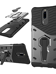 cheap -Case For Huawei Mate 10 lite 360° Rotation / Shockproof / with Stand Back Cover Armor Hard PC