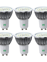 cheap -YWXLIGHT® 6pcs 7W 600-700lm GU10 LED Spotlight 48 LED Beads SMD 2835 Warm White Cold White Natural White
