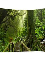 cheap -Garden Theme Landscape Wall Decor 100% Polyester Contemporary Modern Wall Art, Wall Tapestries of