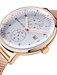 cheap -MINI FOCUS Men's Casual Watch Analog Quartz Oversized Fashion Calendar / date / day Casual Watch Cool / Stainless Steel / Japanese