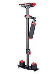 cheap -YELANGU S60T 60cm Carbon Fiber Handheld Stabilizer for DSLR Camera DV(Red)