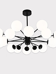 cheap -16 Bulbs LightMyself™ 113 cm Matte Chandelier / Pendant Light Metal Glass Painted Finishes Artistic / Modern Contemporary 110-120V / 220-240V