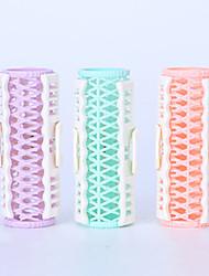 Недорогие -Инструмент для волос Резина Наборы аксессуаров Гребень 3pcs Розовый Фиолетовый Зеленый