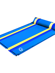 cheap -Shamocamel® Self-Inflating Sleeping Pad Outdoor Camping Moistureproof Thick Inflated 190*132*3.5 cm Camping / Hiking Outdoor for 2 person Fall Orange Green Royal Blue