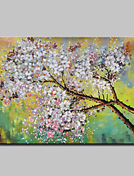 cheap -Mintura® Large Size Hand Painted Flowers Oil Painting On Canvas Modern Abstract Wall Art Picture For Home Decoration No Frame
