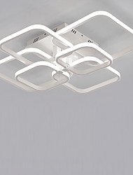 cheap -6-Light 6-Head Geometric Square Modern Simplicity Led CeilingLamp Living Room Dining Room Bedroom Light Fixture
