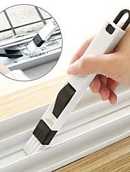 abordables -rainure de fenêtre brosse de nettoyage coin recoin pliage brosse outil de nettoyage