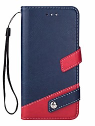 cheap -Case For OnePlus OnePlus 5T Card Holder / with Stand Full Body Cases Solid Colored Hard PU Leather