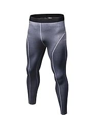 cheap -Men's Running Pants Compression Pants Track Pants Sports Pants Athletic Pants / Trousers Compression Clothing Leggings Sport Exercise & Fitness Quick Dry Breathability Red / White White Black Grey