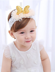 cheap -Toddler Girls' Lace Hair Accessories Gold One-Size / Headbands