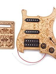 Недорогие -профессиональный Аксессуары Высший класс Электрическая гитара Новый инструмент деревянный Медный провод Аксессуары для музыкальных