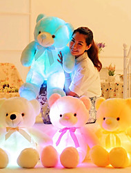 cheap -LED Lighting Stuffed Animal Plush Toys Plush Dolls Stuffed Animal Plush Toy Romance Creative Teddy Bear Lovely Plush Imaginative Play, Stocking, Great Birthday Gifts Party Favor Supplies Girls'