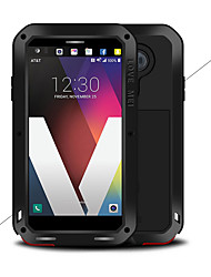 cheap -Case For LG LG V20 Water / Dirt / Shock Proof Full Body Cases Solid Colored Hard Metal
