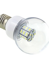 Недорогие -1 шт. 4w e27 led bubble bulb 27 smd 5730 dc / ac 12v - 24v теплый / холодный белый для rv корабля