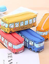 abordables -Boîtes à Stylo Bleu Orange Rouge Jaune, Tissus Organisation /