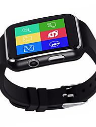 Недорогие -X6 Универсальные Смарт Часы Android Bluetooth Спорт Водонепроницаемый Сенсорный экран Израсходовано калорий Длительное время ожидания / Хендс-фри звонки / Секундомер / Педометр / Напоминание о звонке