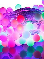 cheap -9m RGB Strip Lights / String Lights 52 LEDs RGB Color-Changing 220 V
