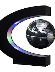 Недорогие -Плавающий глобус Карты Специально разработанный Магнитная левитация Товары для офиса Мальчики Девочки Куски Высококачественный пластик ABS Игрушки Подарок