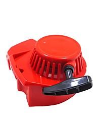 Недорогие -модифицированный красный 2-тактный четырехдверный мини-моторный карманный байк стартер стартер 33 49cc