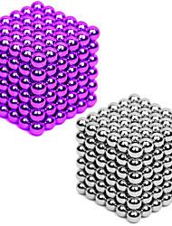 Недорогие -2*216/2*432 pcs 3mm Магнитные игрушки Магнитные шарики Конструкторы Сильные магниты из редкоземельных металлов Неодимовый магнит Неодимовый магнит 2 / Стресс и тревога помощи / 2 цвета