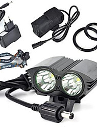 cheap -6000 lm Headlamps LED 1 Mode Professional / Wearproof / Lightweight