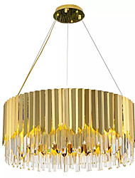 cheap -QIHengZhaoMing 8-Light 60 cm Crystal / Extended Pendant Light Crystal Electroplated Chic & Modern 110-120V / 220-240V