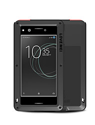 cheap -Case For Sony Sony Xperia XZ Premium Water / Dirt / Shock Proof Full Body Cases Solid Colored Hard Metal