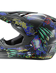 cheap -AHP 225 Motorcycle Motocross Helmet Adults Off-Road Helmet Full Face Racing Style Damping / Durable Fluorescent