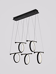 cheap -CONTRACTED LED 5-Light Pendant Light Ambient Light Painted Finishes Metal Aluminum Adjustable 110-120V / 220-240V LED Light Source Included / LED Integrated