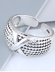 cheap -Band Ring X Ring Silver Alloy Ladies Vintage European Adjustable / Women's