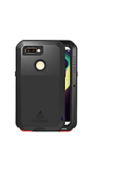 cheap -Case For OPPO OPPO R11s Water / Dirt / Shock Proof Full Body Cases Solid Colored Hard Metal