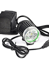 cheap -6000 lm Headlamps / Headlight LED 1 Mode Professional / Wearproof / Lightweight