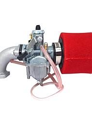 Недорогие -красный mikuni pz26 карбюратор масляный фильтр воздушный фильтр для lifan 125cc грязь яма велосипед atv vm2226mm