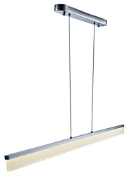 cheap -1-Light 1.5cm(0.6 inch) Mini Style / LED Pendant Light Metal Acrylic Linear Painted Finishes Modern Contemporary 110-120V / 220-240V