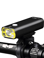 cheap -LED Bike Light Front Bike Light Headlight LED Mountain Bike MTB Bicycle Cycling Waterproof Super Brightest Flashlight Lightweight Rechargeable Battery 400 lm Cycling / Bike - Wheel up / IPX-4