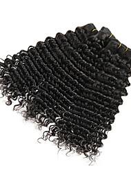 cheap -3 Bundles Vietnamese Hair Deep Wave Human Hair Natural Color Hair Weaves / Hair Bulk Extension Bundle Hair 8-28 inch Natural Color Human Hair Weaves Women Extention Best Quality Human Hair Extensions