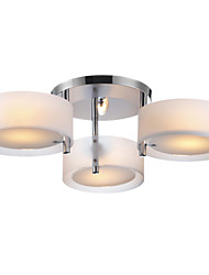 abordables -Lightinthebox Montage du flux Lumière d'ambiance Chrome Métal Acrylique Style mini 110-120V / 220-240V Ampoule non incluse / E26 / E27