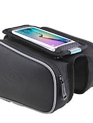 Недорогие -ROSWHEEL Сотовый телефон сумка Бардачок на раму Дожденепроницаемый Со светоотражающими полосками Простота установки Велосумка/бардачок Кожа PU Велосумка/бардачок Велосумка iPhone X / iPhone XR