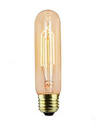 cheap -1pc 40 W E14 / E26 / E27 T10 Warm White 2300 k Retro / Decorative Incandescent Vintage Edison Light Bulb 220-240 V / 110-130 V
