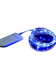 cheap -BRELONG® 2m String Lights 20 LEDs Dip Led 1pc Warm White White Blue Decorative