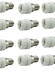 cheap -12pcs E14  to G9 G9 Bulb Accessory / Converter Ceramic Light Bulb Socket