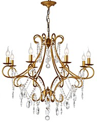 cheap -LightMyself™ 8-Light 82 cm Chandelier Metal Painted Finishes Antique / Traditional / Classic 110-120V / 220-240V