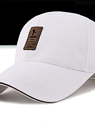 cheap -Unisex Cotton Baseball Cap-Print Spring Fall White